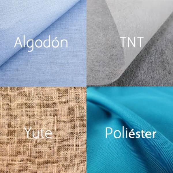 Tipos de bolsas de tela: materiales
