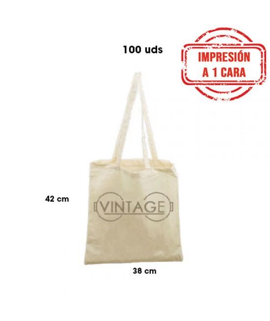 Bolsas de algodón personalizadas Pack356