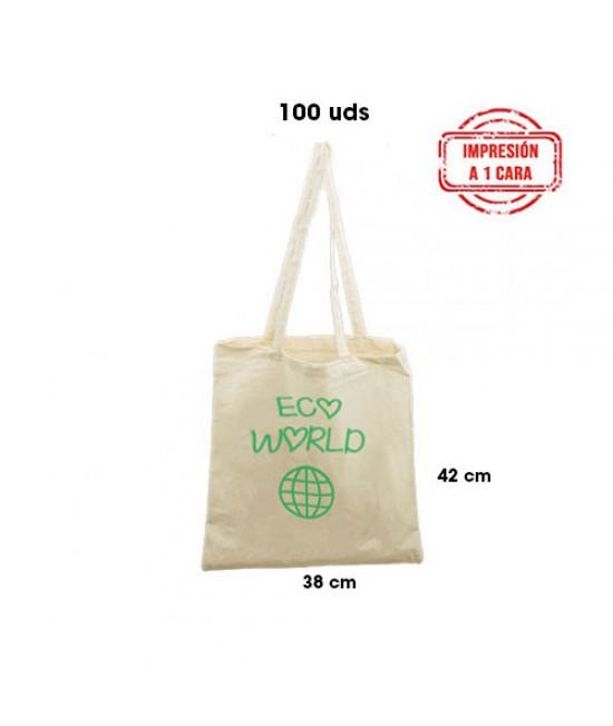 Bolsas de algodón personalizadas Pack362