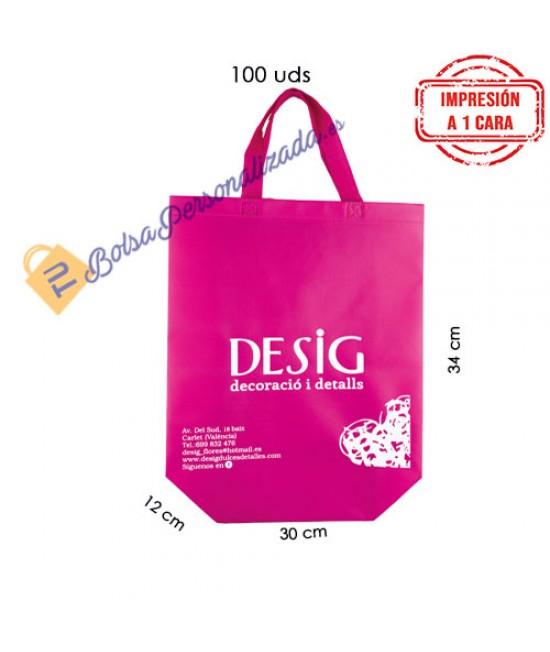 Bolsas de tela personalizadas Pack579