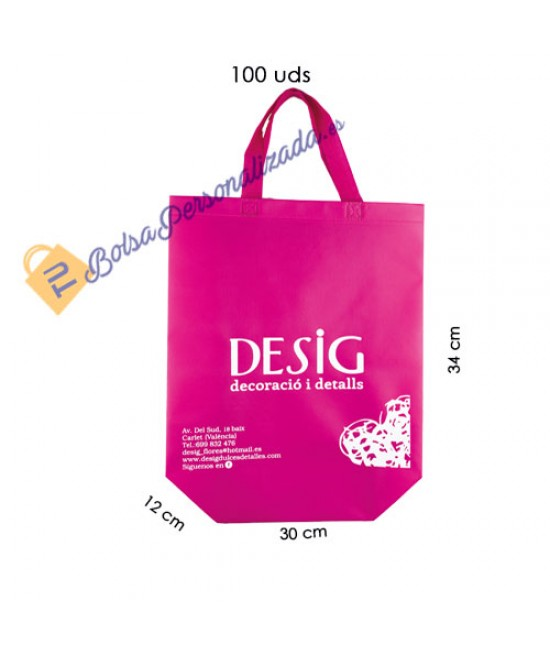 Bolsas de tela personalizadas Pack583