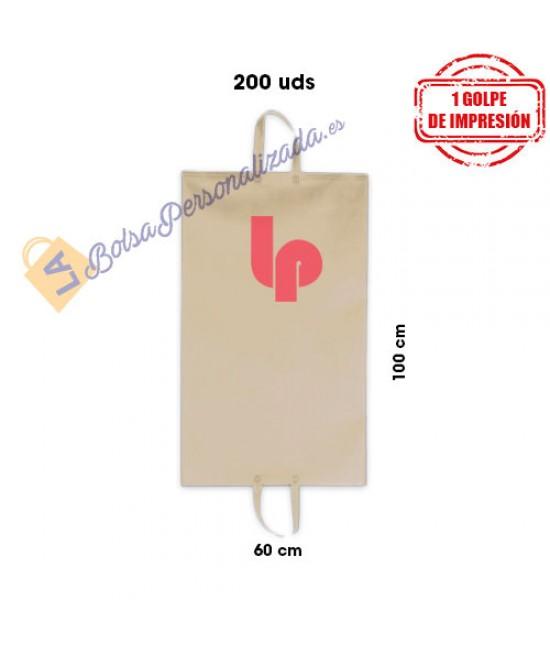 Guardatrajes de tela personalizados PACK800