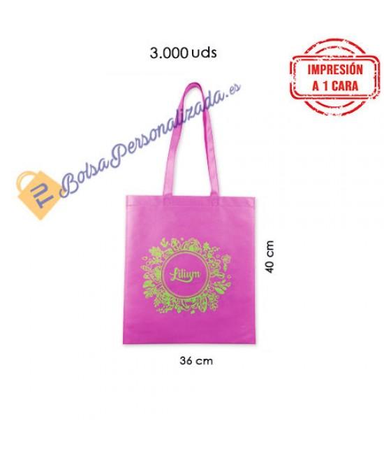 Bolsas de tela personalizada Pack849