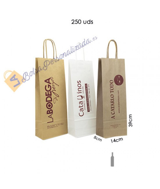Bolsas botellas de vino Pack064