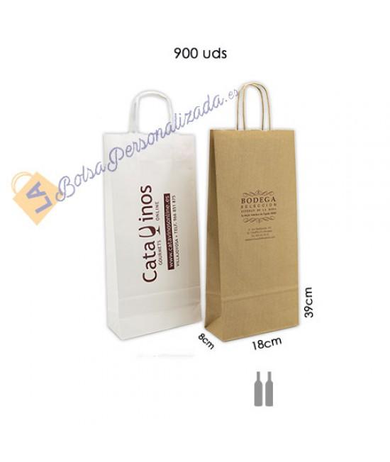Bolsas botellas de vino Pack072