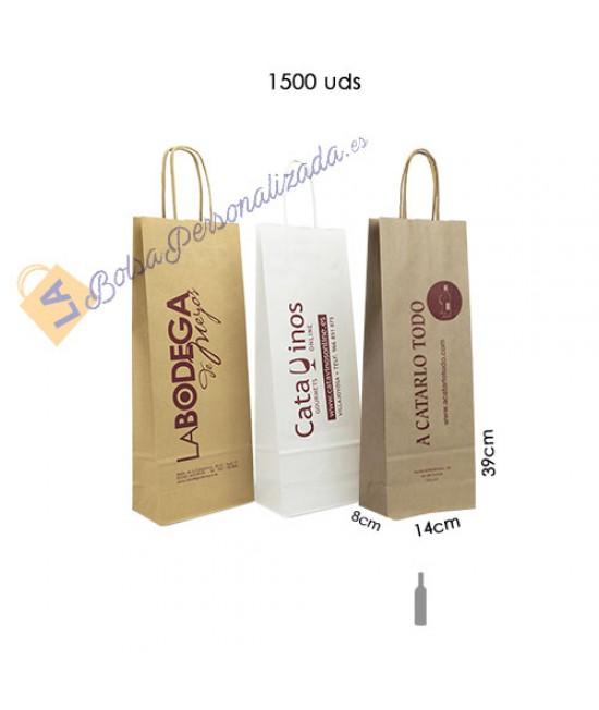 Bolsas botellas de vino Pack075